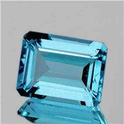NATURAL INTENSE SKY BLUE TOPAZ  14x10 MM - FL