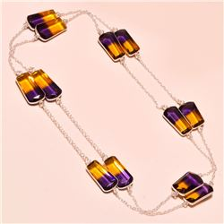 Gorgeous 54 Ct. Ametrine Necklace