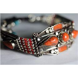 Tibet Hand Made Coral Bracelet