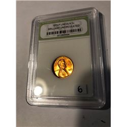 1973 P Lincoln Penny Certified Brilliant Uncirculated