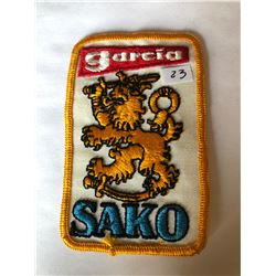 """Vintage """"GARCIA SAKO"""" Outdoors Patch in Great Condition"""