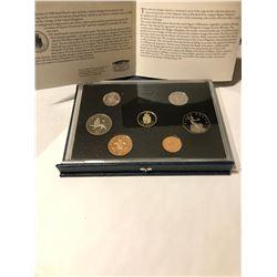 1988 British Royal Canadian Mint Proof Set in Original Package with Paperwork