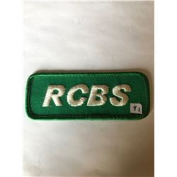 """Vintage Outdoors RCBS RELOADING"""" Patch in Like New Condition"""