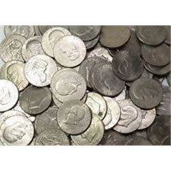 """Roll of Assorted Eisenhower """"IKE"""" Dollars Mixed Nice 20 Total"""