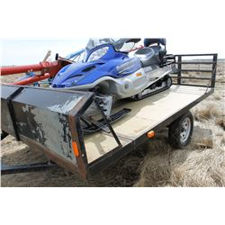 SINGLE AXLE SLED TRAILER