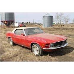 APPROXIMATELY 1970 MUSTANG CONVERTIBLE