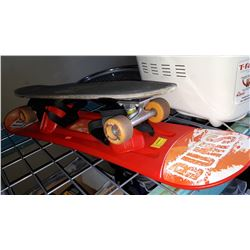 KIDS SNOWBOARD AND SKATE BOARD