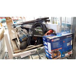 TOTE OF WORK LIGHT, XENON LED LIGHTS AND MORE