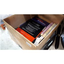 BOX OF BOOKS ANNE RICE AND OTHER