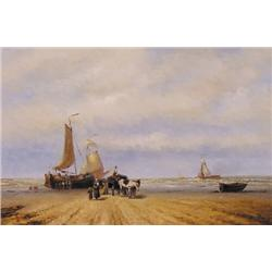 UNTITLED; SAILING BARGES