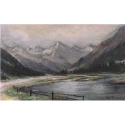 UNTITLED; RANCH IN THE ROCKIES