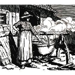 SOAPMAKING (LE BRASSIN DE SAVON) with  LA VIELL PARFE; 1935