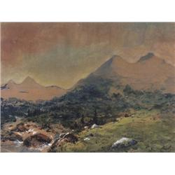 UNTITLED; STREAM THROUGH THE MOUNTAINS