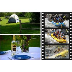 5 Day 4 Night Whitewater Rafting Package on Idaho's Main Salmon River for 2 people