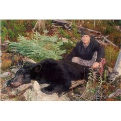 7 Day Black Bear Hunt for 2 people - British Columbia