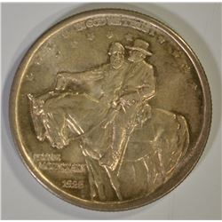 1925 STONE MOUNTAIN COMMEM HALF DOLLAR, GEM BU