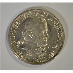 1922 GRANT COMMEM HALF DOLLAR, GEM BU