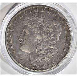 1889-CC MORGAN DOLLAR  AU