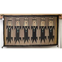 NAVAJO INDIAN TEXTILE (HELEN CLY)