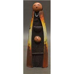 NAVAJO INDIAN POTTERY SCULPTURE (JOHN WHITEROCK)