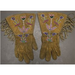 CROW INDIAN GAUNTLETS