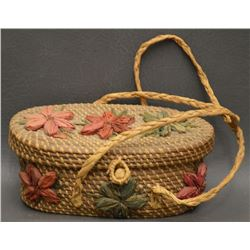 COUSHATTA INDIAN BASKET