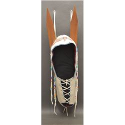 PLAINS INDIAN DOLL CRADLE