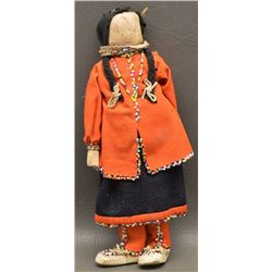 IROQUOIS INDIAN HUSK DOLL