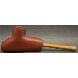 SIOUX INDIAN CATLINITE PIPE