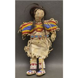 SIOUX INDIAN HIDE DOLL