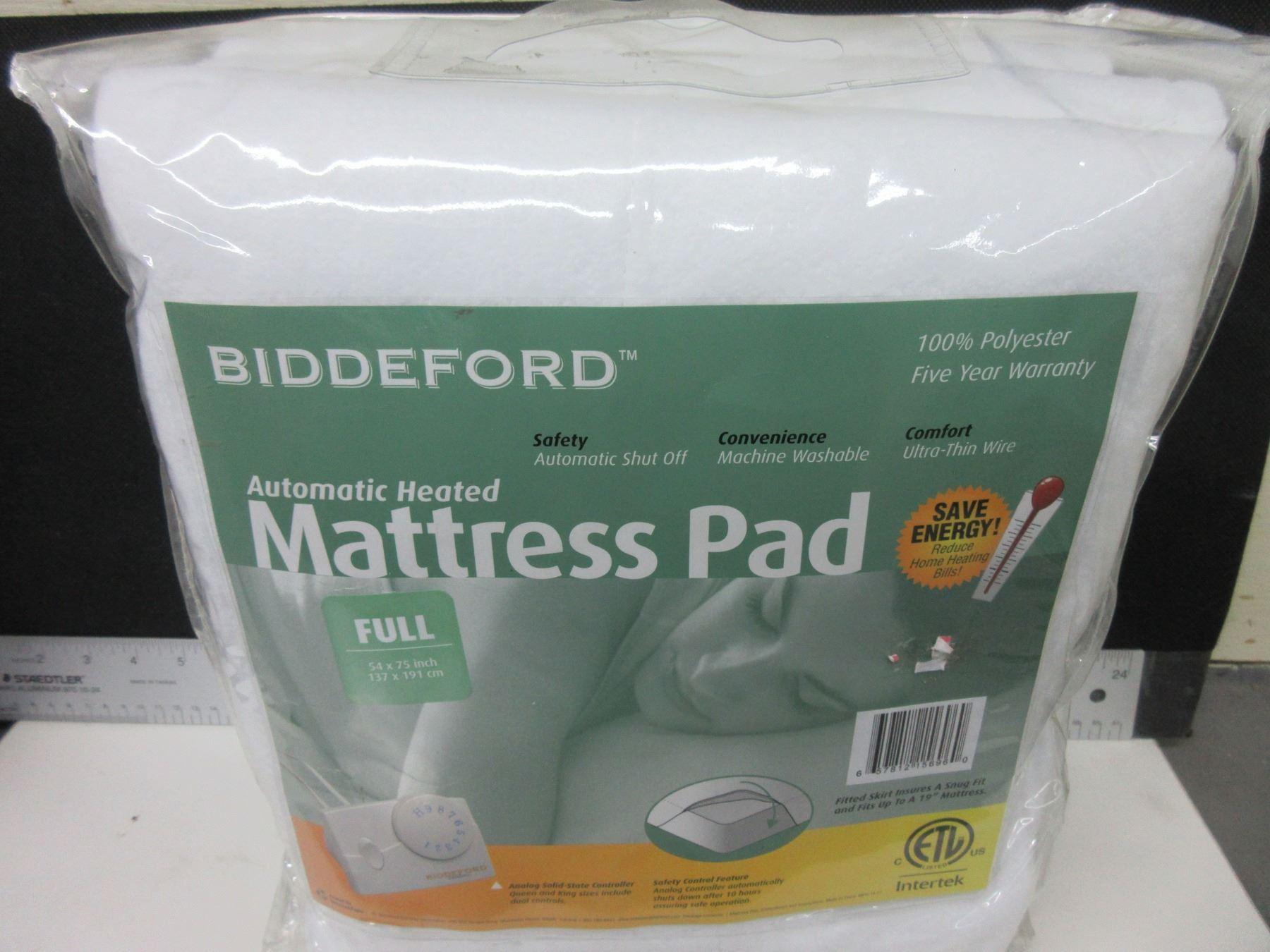 New Full Automatic Heated Mattress Pad Auto Shut Off Machine
