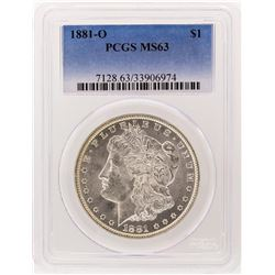 1881-O PCGS MS63 Morgan Silver Dollar