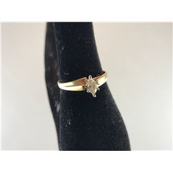 10K YELLOW & WHITE GOLD LADIES RING - RP $495.00