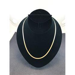 "10K YELLOW GOLD CHAIN 20"" - RP $650.00"