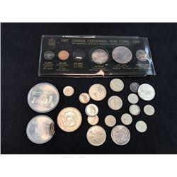 CANADA & US SILVER COINS