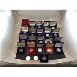 BAG OF ASSORTED COLLECTORS COINS