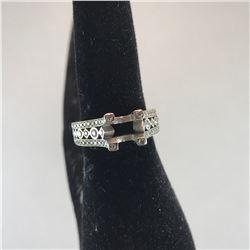 1- WHITE 14K WITH 10 BRILLIANT DIAMONDS, 1- WHITE GOLD RING WITH  72 DIAMONDS WITH ONE DIAMOND