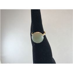 LADIES JADE RING