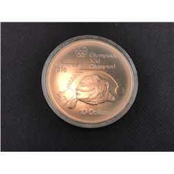 $10 1976 OLYMPIC COIN