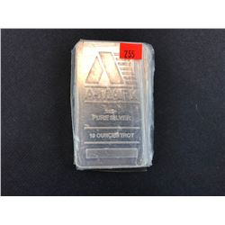 AMARK .999+ PURE SILVER 10 OUNCE TROY - TAX EXEMPT