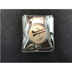 CANOE FINE SILVER 2011 CANADA 20 DOLLARS COLLECTOR COIN
