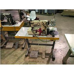 YAMATO MODEL VF2503-156M-11 SINGLE HEAD INDUSTRIAL SEWING MACHINE