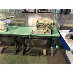 YAMATO VF2500-156M TWO HEAD INDUSTRIAL SEWING MACHINE