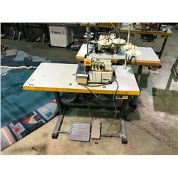 SIRUBA MODEL 514M2-24 INDUSTRIAL SERGER