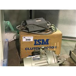 ISM 400WT CLUTCH MOTOR WITH SWITCH