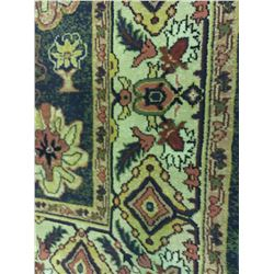 ORIENTAL SUPPER WOOL 8' X 5' BLUE, GREY, RED WOVEN PERSIAN AREA RUG