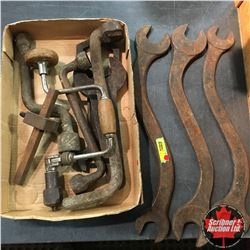 Antique Tools: Wrenches, etc