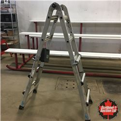 Combination Ladder - Converts to Scaffold