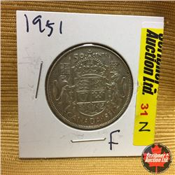 Canada Fifty Cent 1951