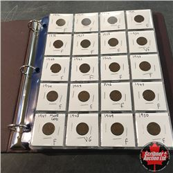 Canada One Cent Collection (Binder 80 Coins) 1932 >>> 2010